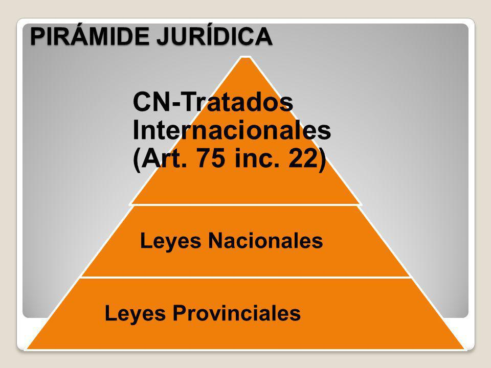 CN-Tratados Internacionales (Art. 75 inc. 22)