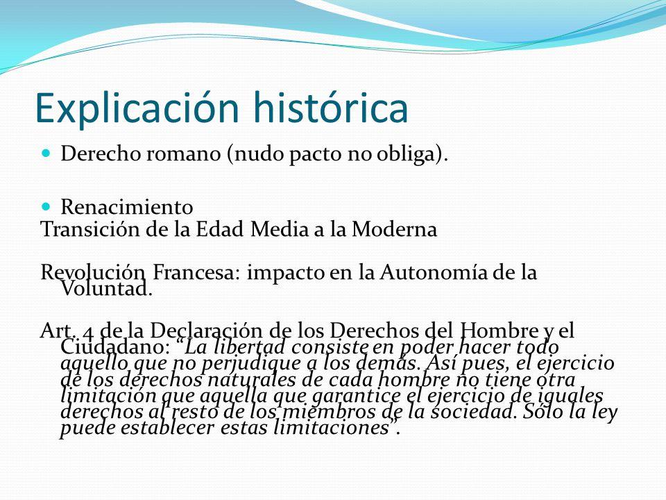 Explicación histórica