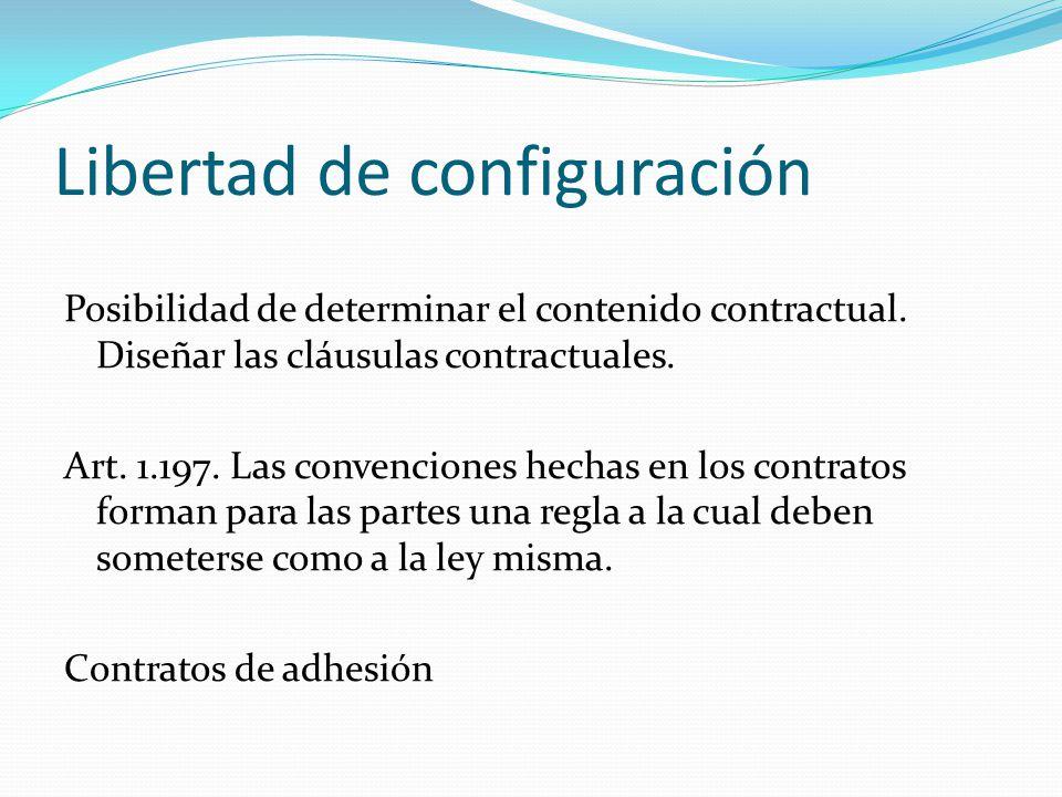 Libertad de configuración