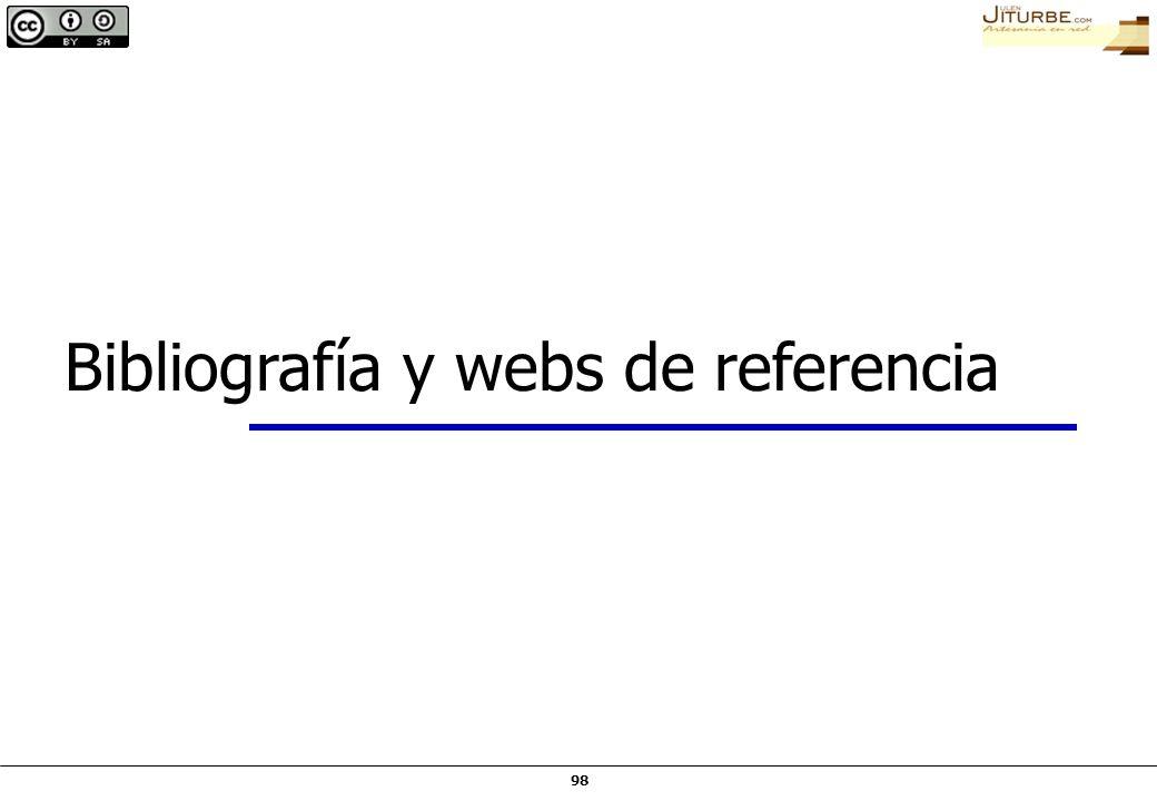 Bibliografía y webs de referencia