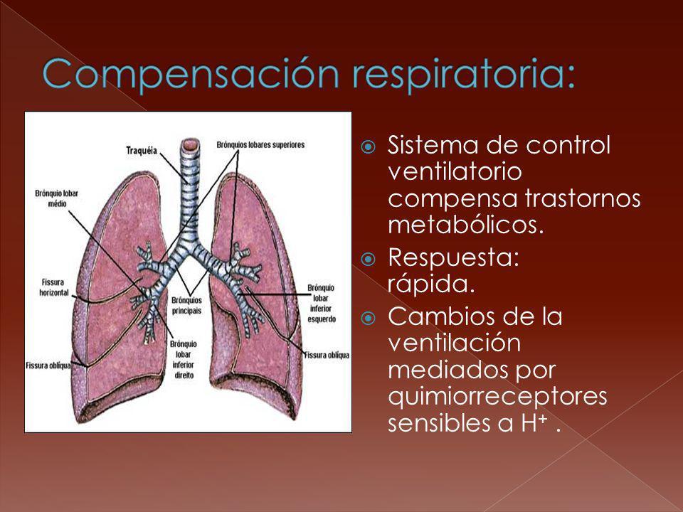 Compensación respiratoria: