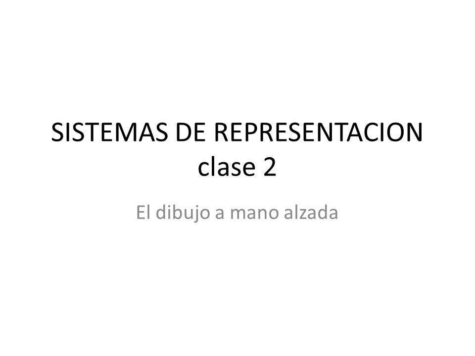 SISTEMAS DE REPRESENTACION clase 2