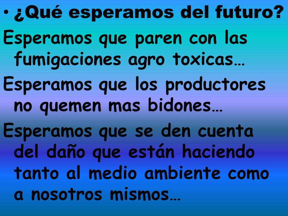 ¿Qué esperamos del futuro