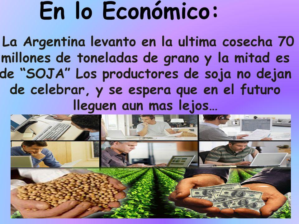 En lo Económico: