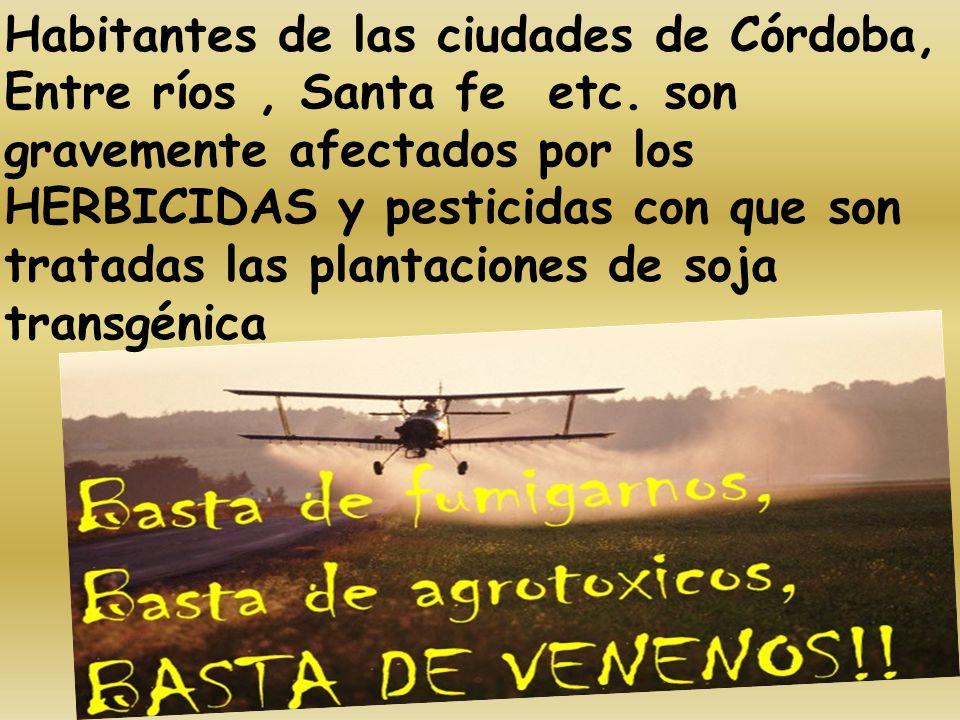 Habitantes de las ciudades de Córdoba, Entre ríos , Santa fe etc