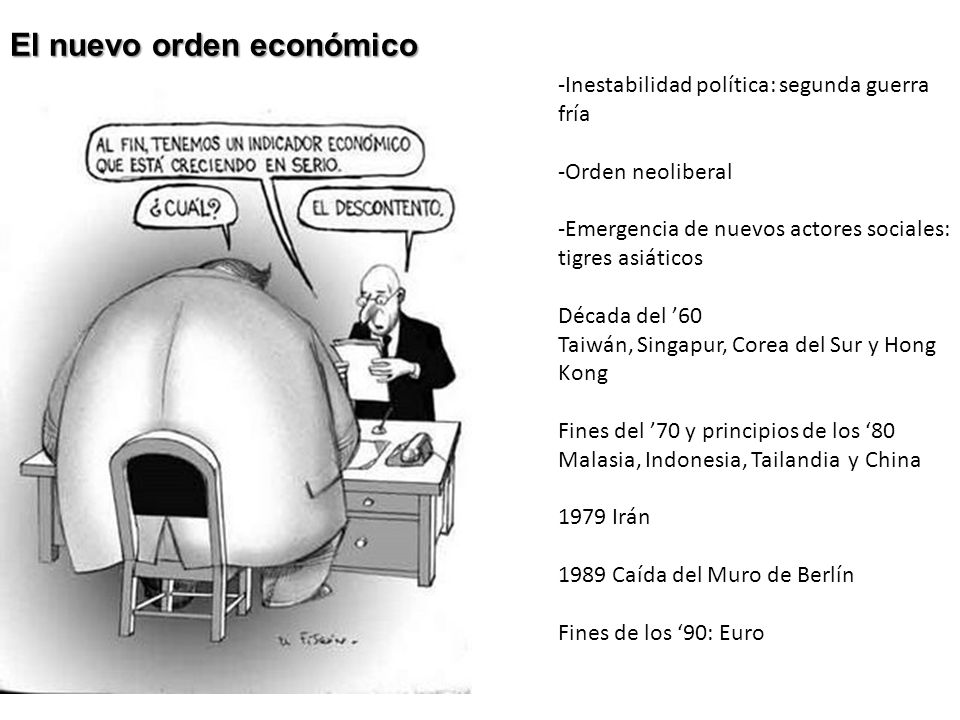 El nuevo orden económico