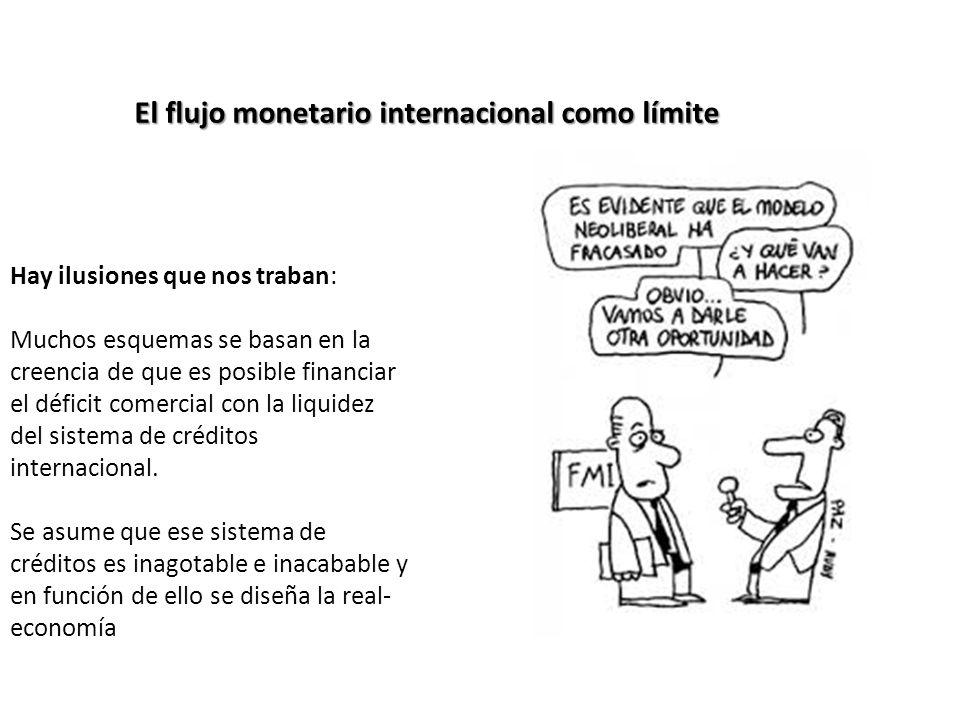 El flujo monetario internacional como límite