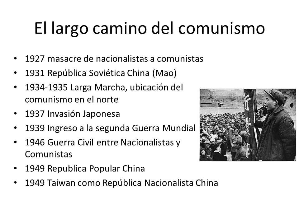 El largo camino del comunismo