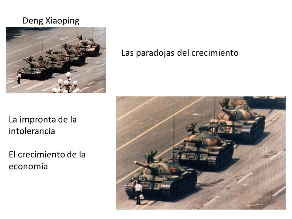 Deng Xiaoping Las paradojas del crecimiento. La impronta de la intolerancia.