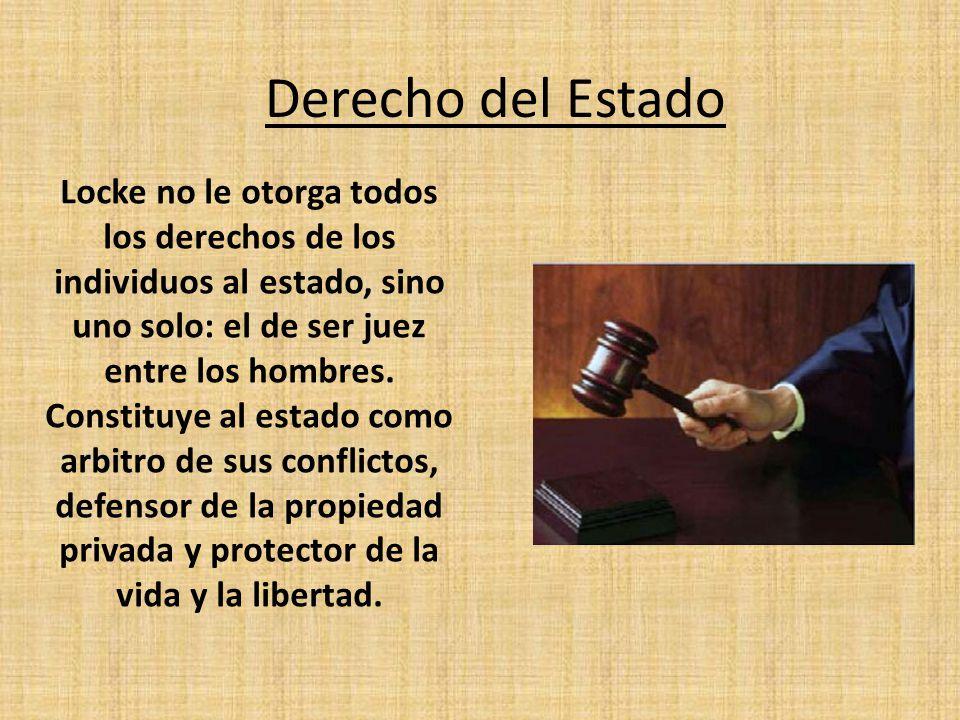 Derecho del Estado