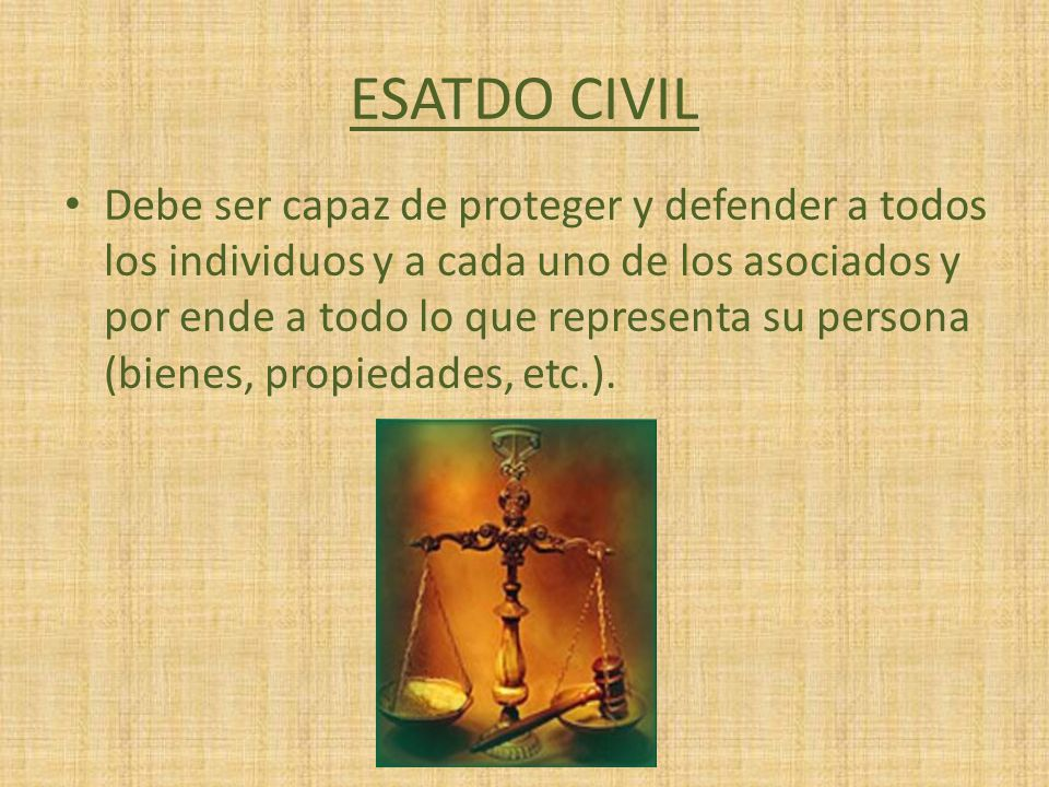 ESATDO CIVIL