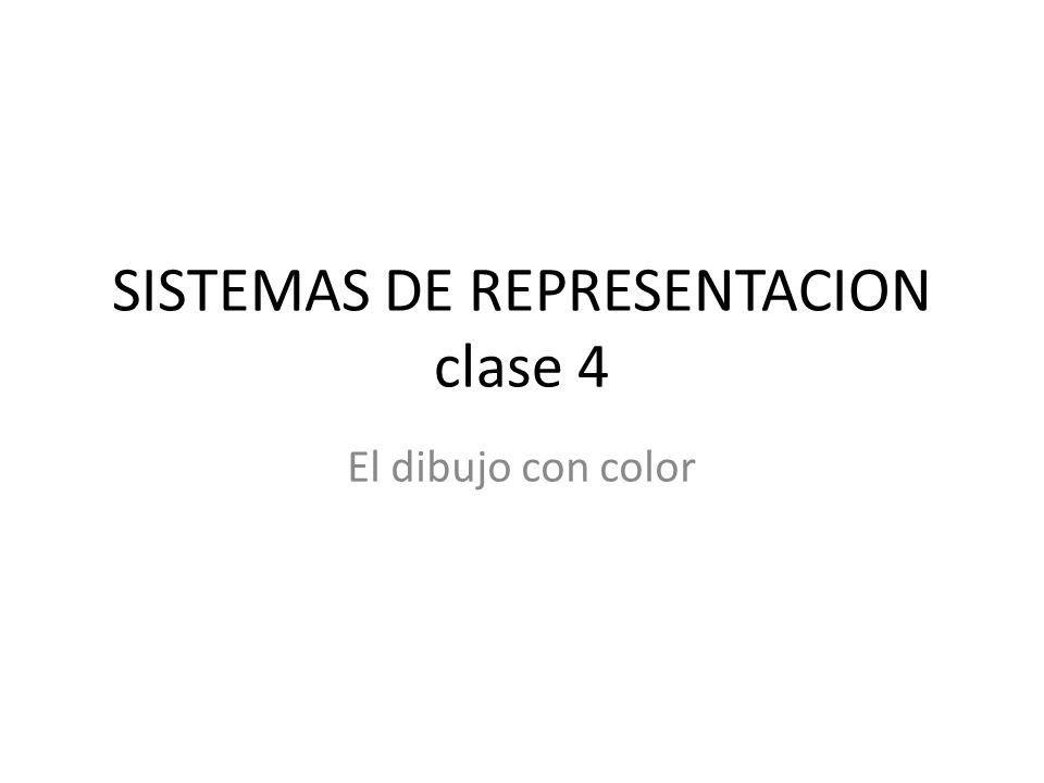 SISTEMAS DE REPRESENTACION clase 4
