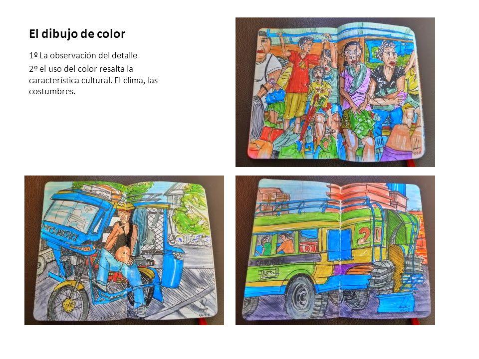 El dibujo de color 1º La observación del detalle