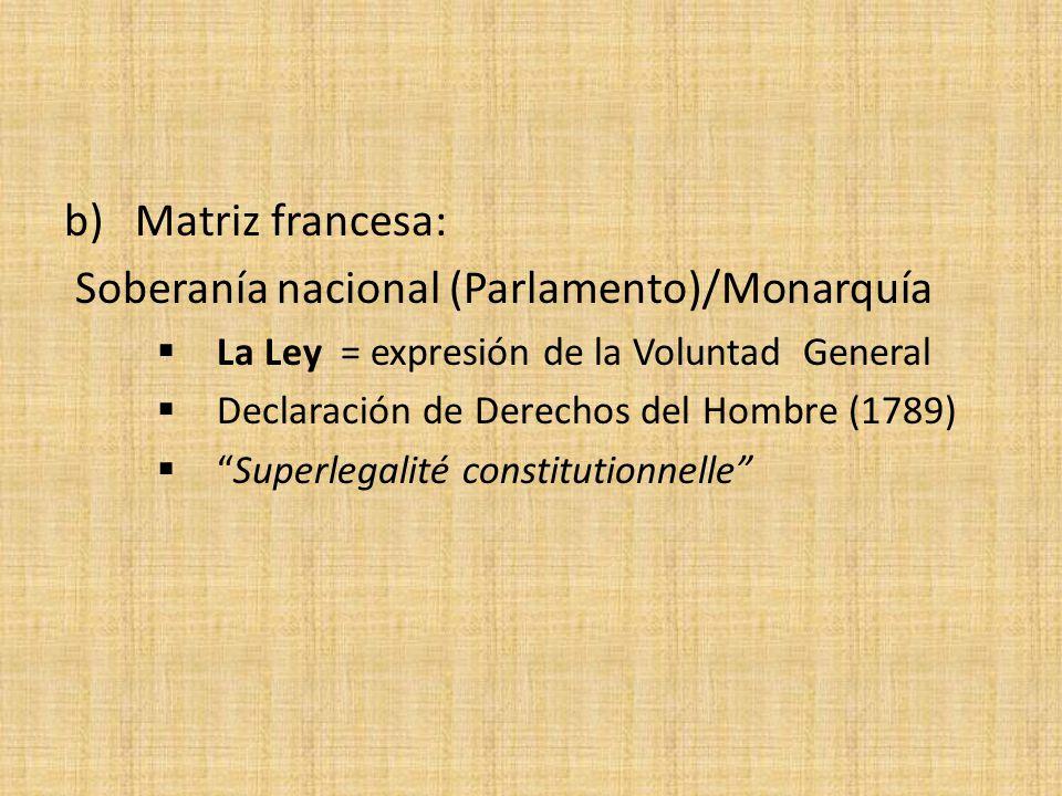 Soberanía nacional (Parlamento)/Monarquía