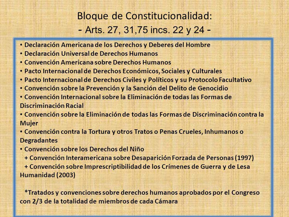 Bloque de Constitucionalidad: