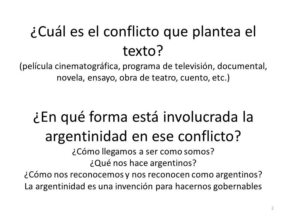 ¿Cuál es el conflicto que plantea el texto
