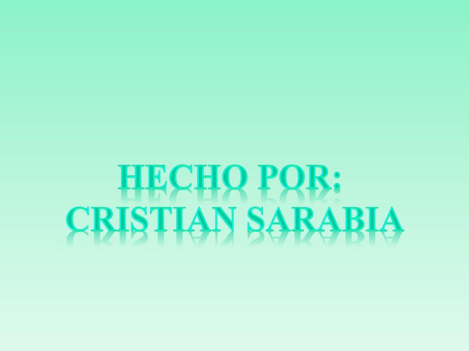 Hecho por: Cristian sarabia
