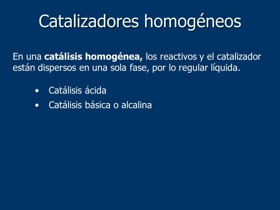 Catalizadores homogéneos