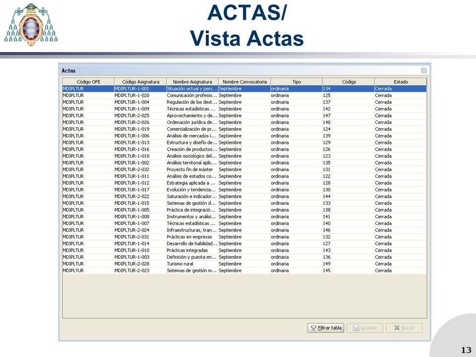 ACTAS/ Vista Actas 13 13