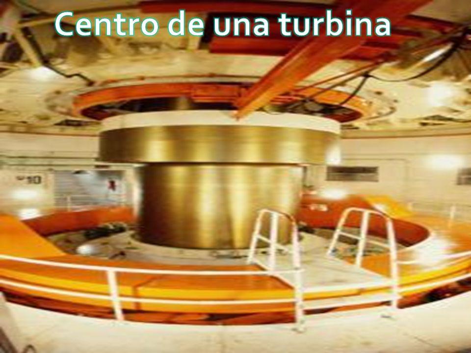 Centro de una turbina