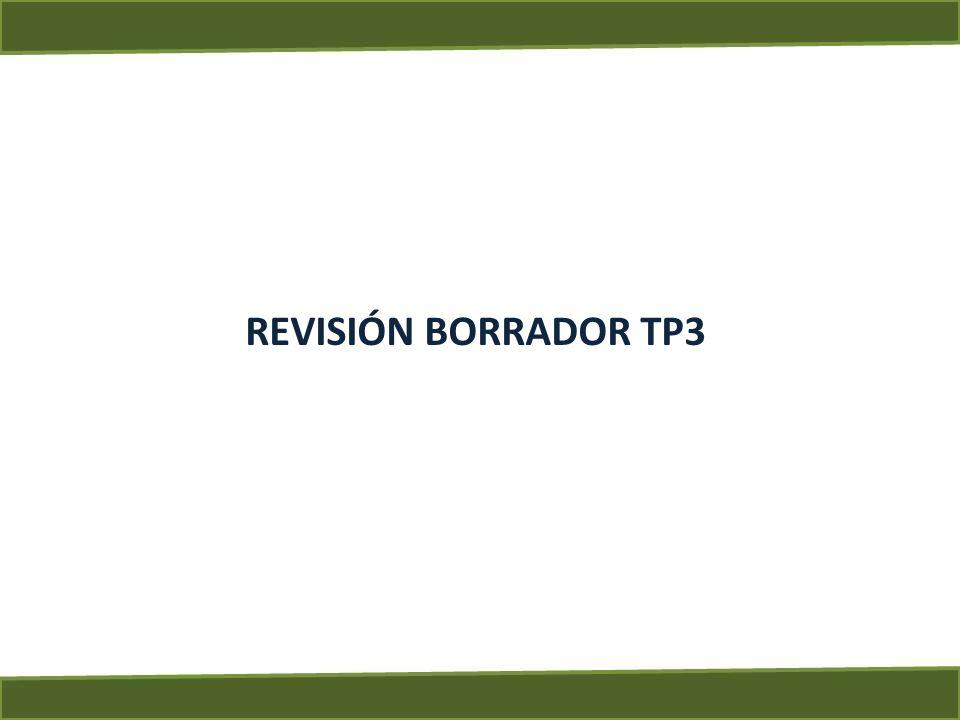REVISIÓN BORRADOR TP3