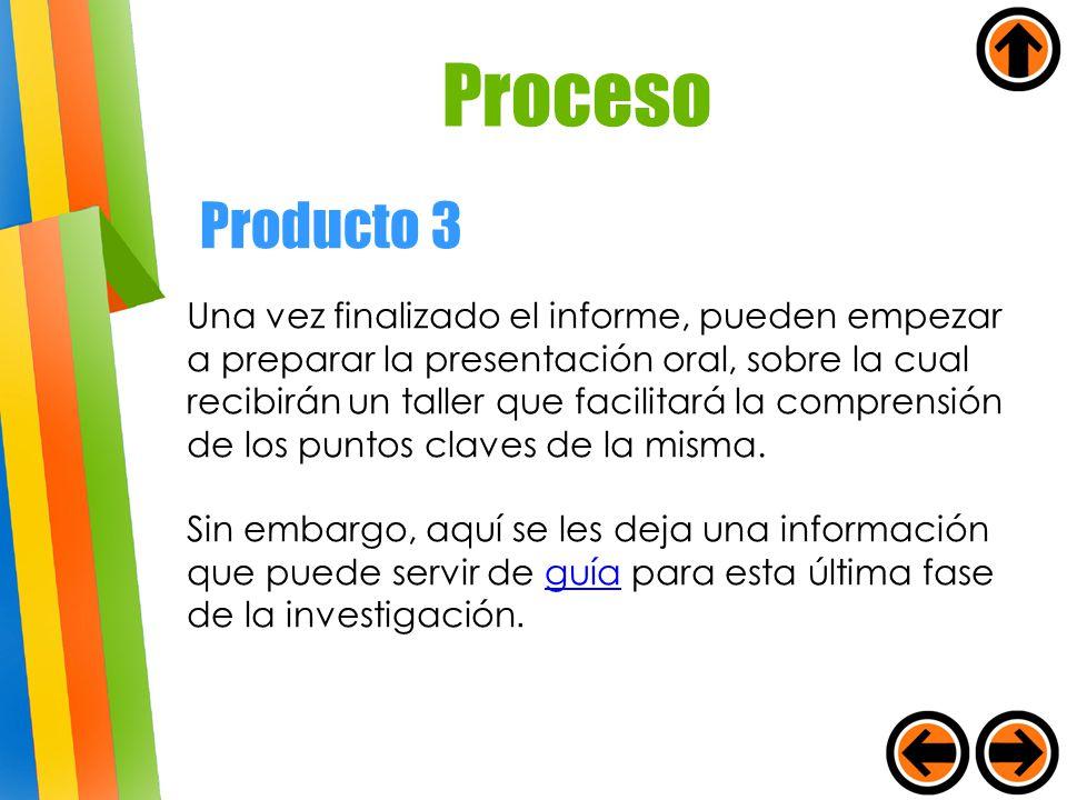 Proceso Producto 3.