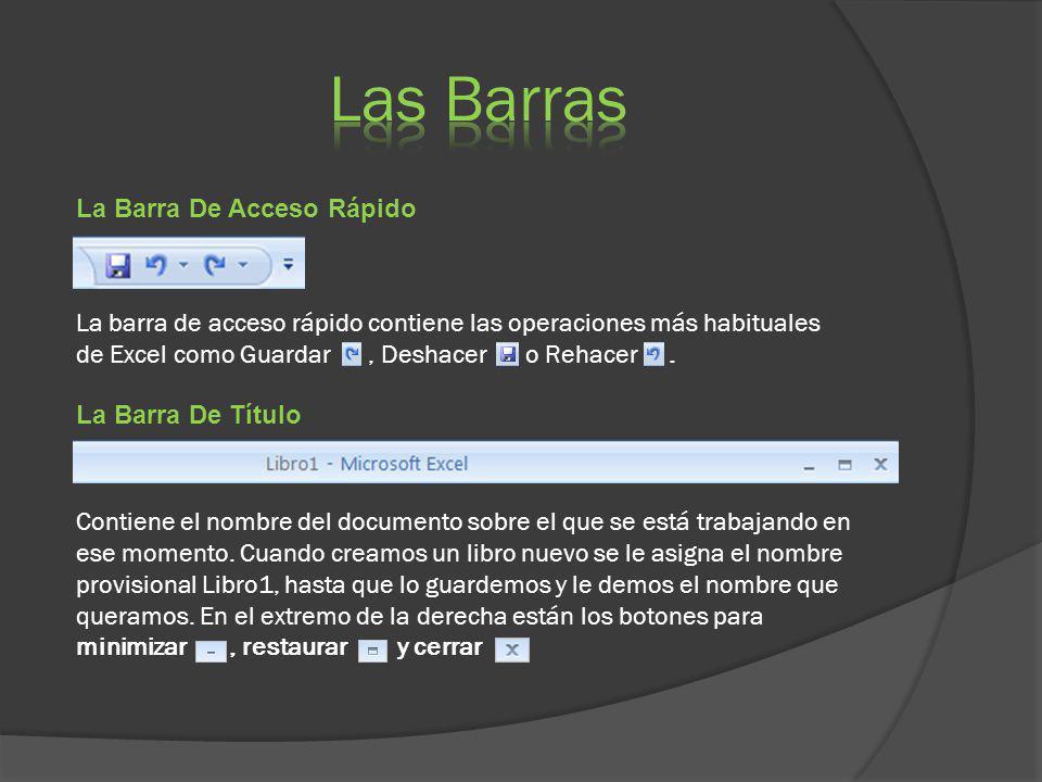 Las Barras La Barra De Acceso Rápido