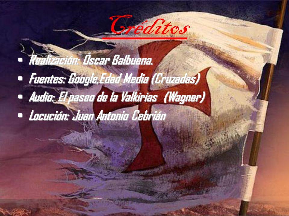 Créditos Realización: Óscar Balbuena.
