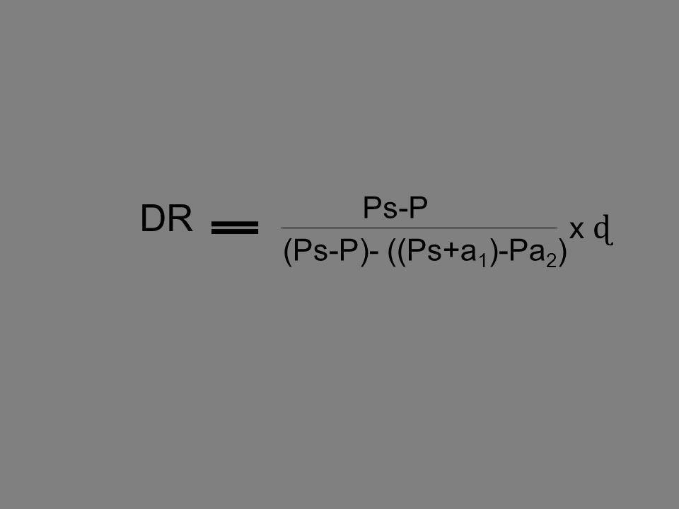 Ps-P (Ps-P)- ((Ps+a1)-Pa2) DR x ɖ
