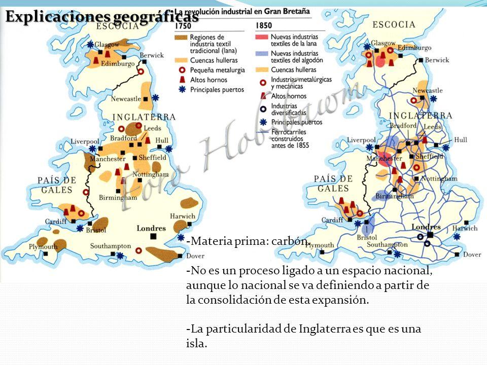 Explicaciones geográficas