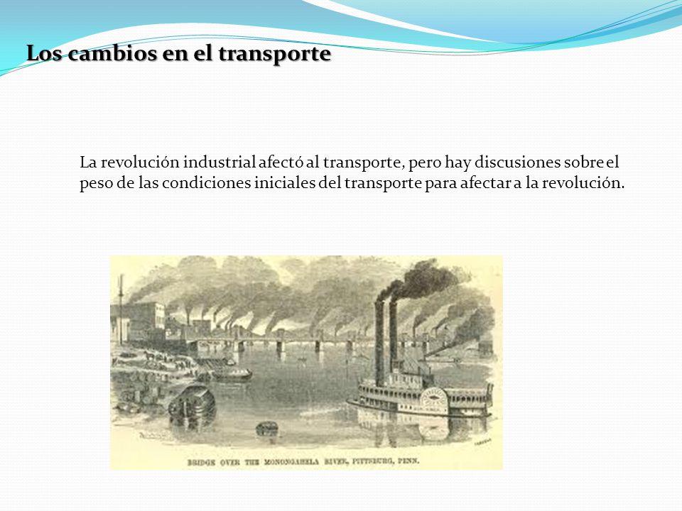 Los cambios en el transporte
