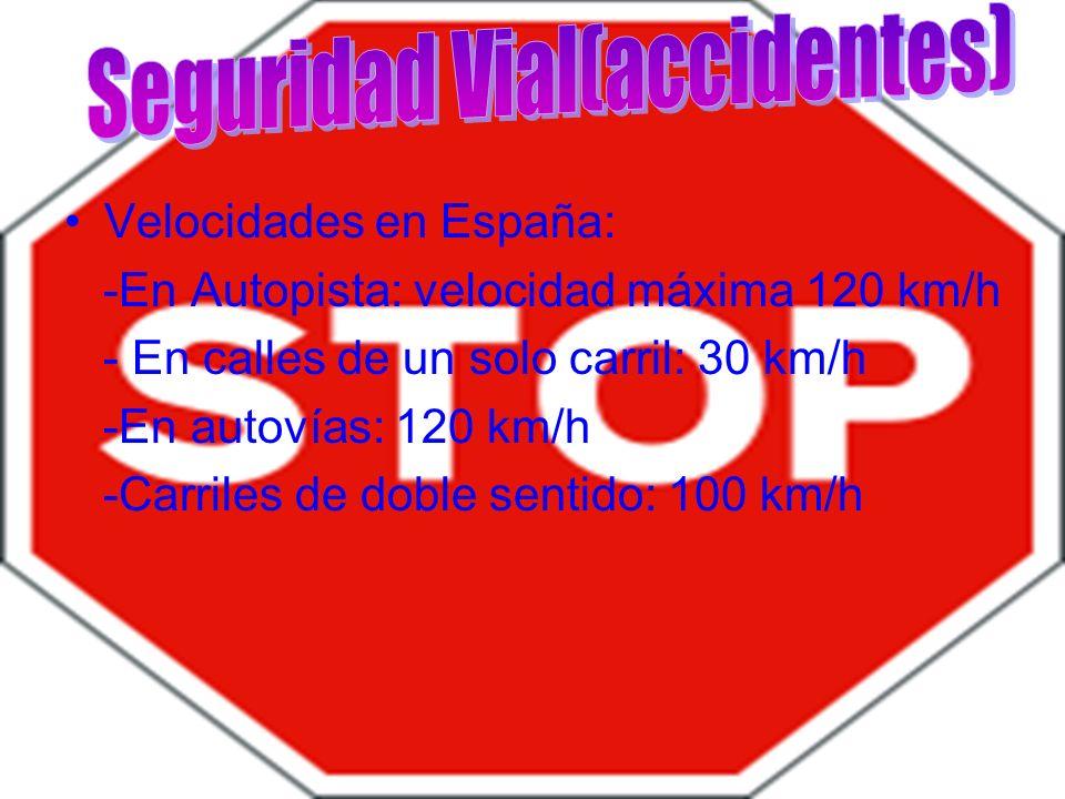Seguridad Vial(accidentes)