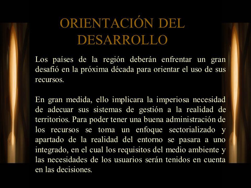 ORIENTACIÓN DEL DESARROLLO