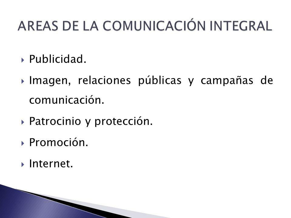 AREAS DE LA COMUNICACIÓN INTEGRAL