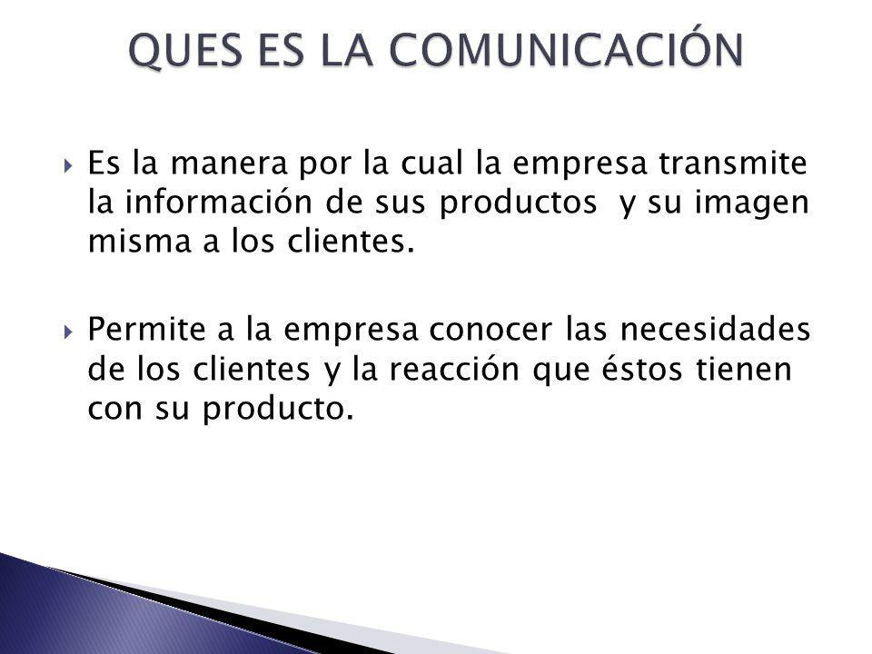 QUES ES LA COMUNICACIÓN