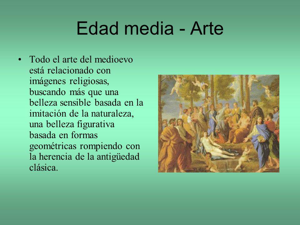 Edad media - Arte