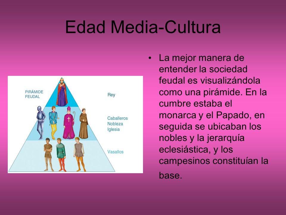 Edad Media-Cultura