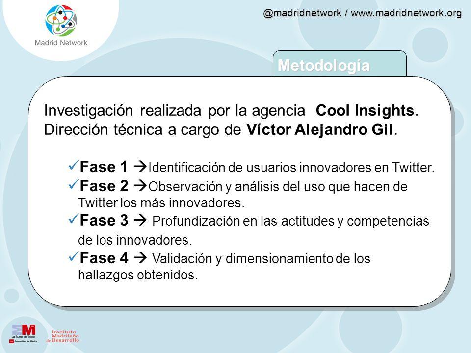 Investigación realizada por la agencia Cool Insights.