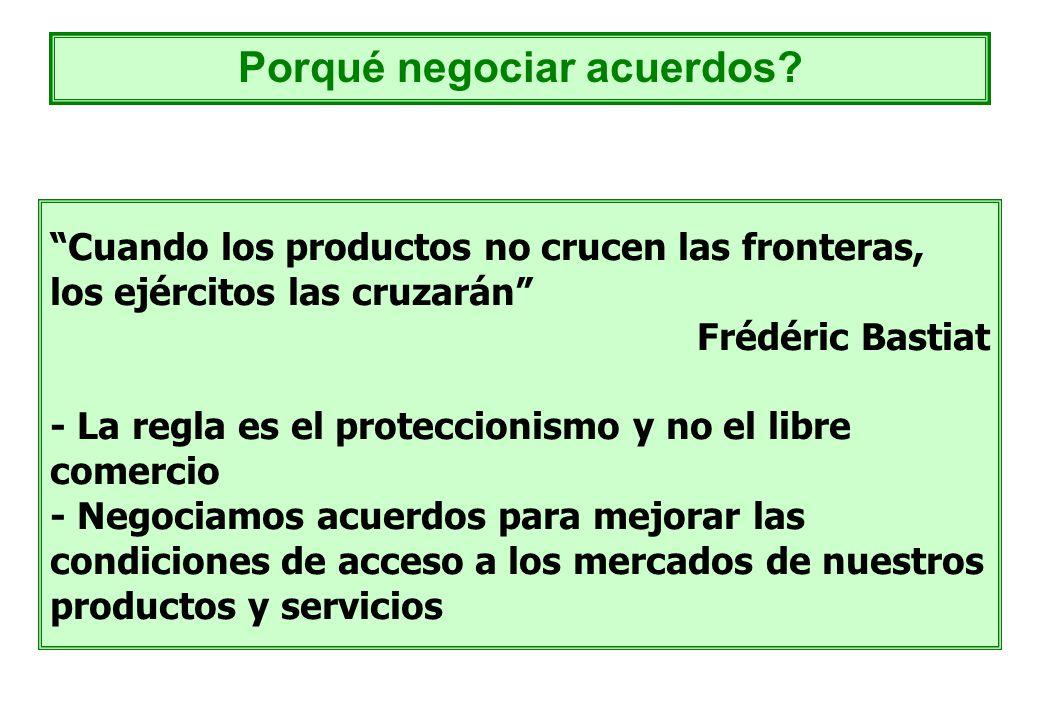 Porqué negociar acuerdos
