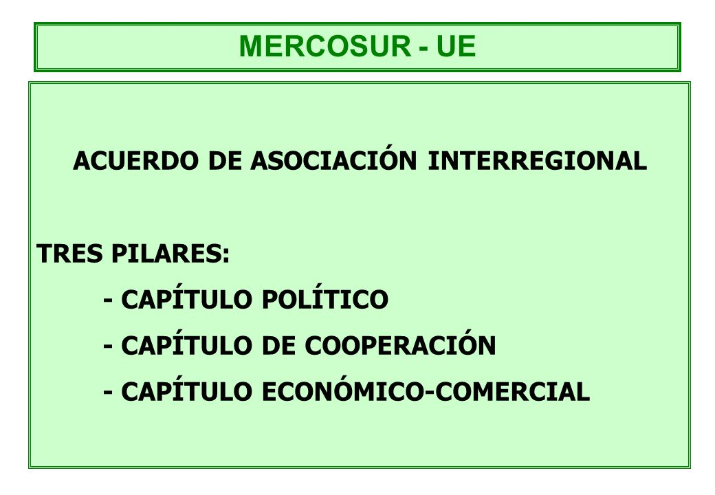 ACUERDO DE ASOCIACIÓN INTERREGIONAL