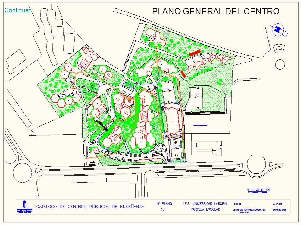 PLANO GENERAL DEL CENTRO