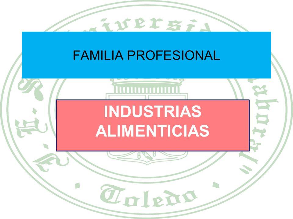 INDUSTRIAS ALIMENTICIAS