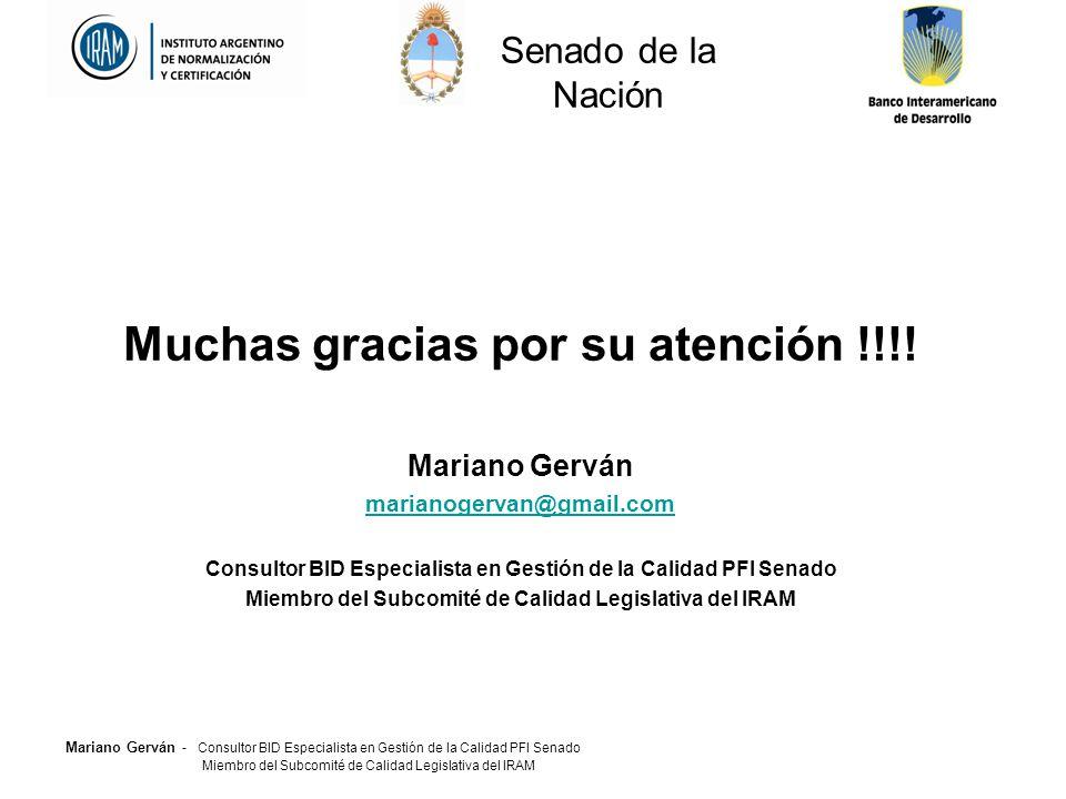 Muchas gracias por su atención !!!!