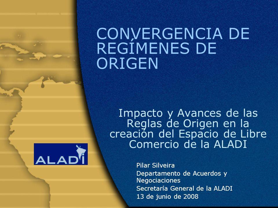 CONVERGENCIA DE REGÍMENES DE ORIGEN