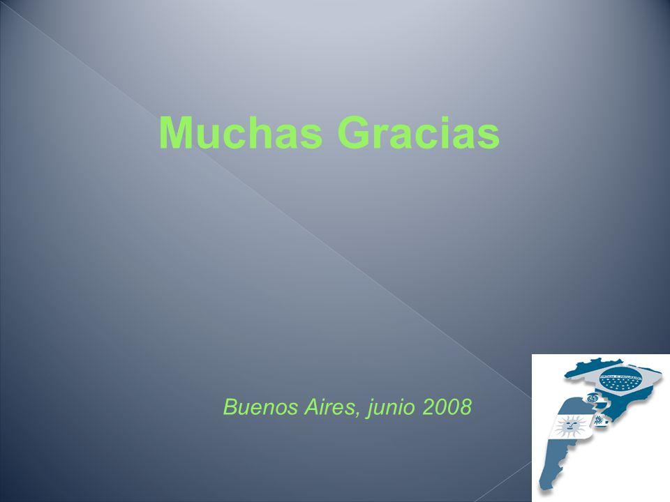 Muchas Gracias Buenos Aires, junio 2008