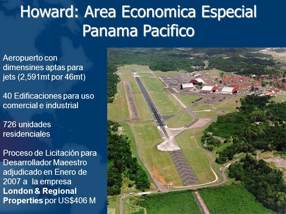 Howard: Area Economica Especial Panama Pacifico