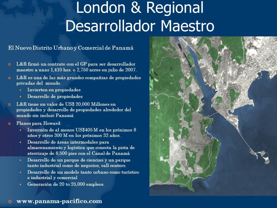 London & Regional Desarrollador Maestro