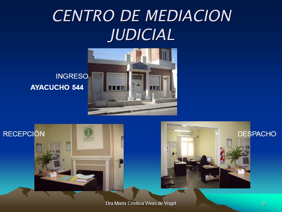 CENTRO DE MEDIACION JUDICIAL
