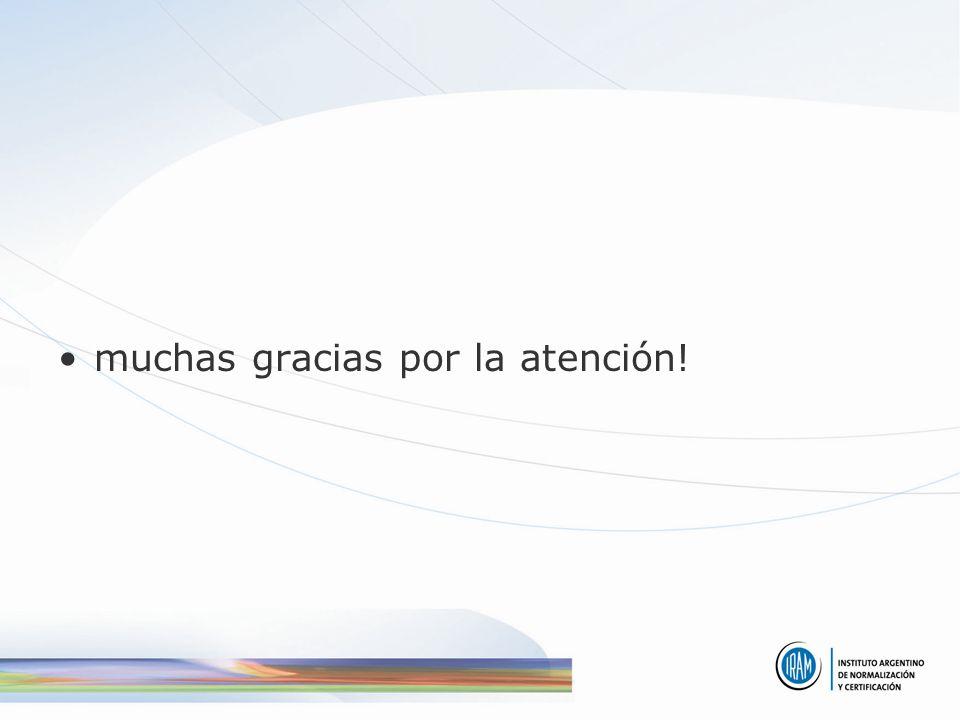 muchas gracias por la atención!