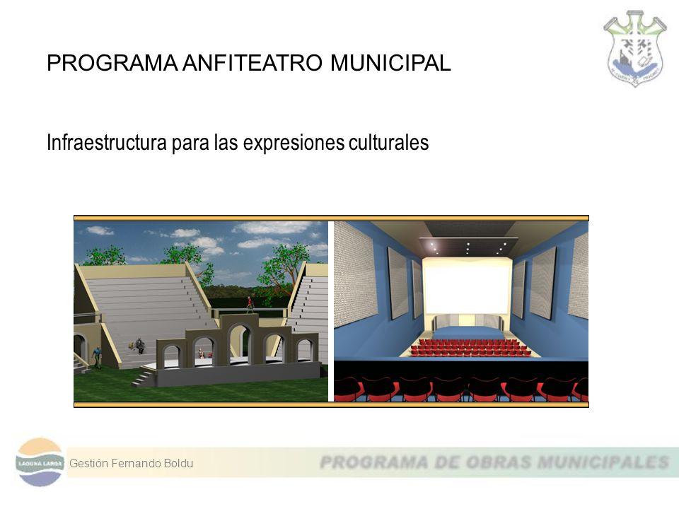 PROGRAMA ANFITEATRO MUNICIPAL